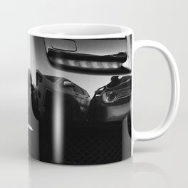 Rolls Rims // Black and White Luxury Super Car Photography Real Life Street Shots Coffee Mug