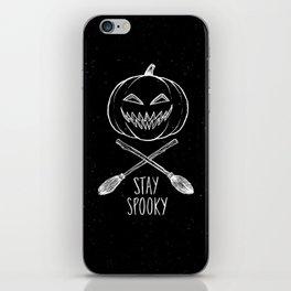 Stay Spooky iPhone Skin