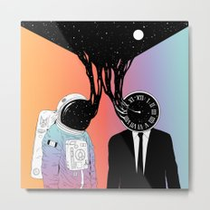 A Portrait of Space and Time ( A Study of Existence) Metal Print