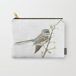 Piwakawaka - Fantail Bird Carry-All Pouch