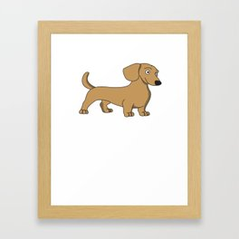 Funny & Cute Weiner Tshirt Designs Have you seen my weiner Framed Art Print