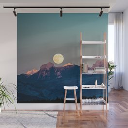 The Rising Moon Wall Mural