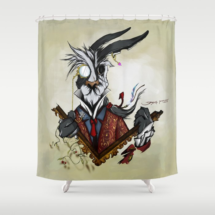 The March Hare Shower Curtain