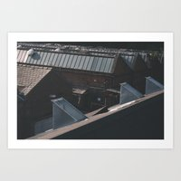 industrial Art Prints featuring Industrial  by Mylo Photography