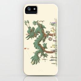 The Night Gardener - Dragon Topiary  iPhone Case
