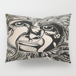 Female Sasquatch Series Clan Leader Pillow Sham