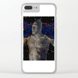 Black Atlas in the Ultra Deep Field Clear iPhone Case
