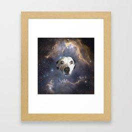 Dog Star Framed Art Print