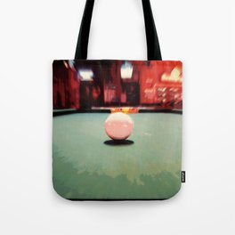 Cue Ball Abstract  Tote Bag