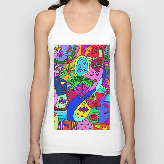 Abstract 27 Unisex Tank Top