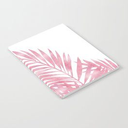 Palm Leaves Pink Notebook