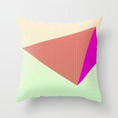 My Pyramid Throw Pillow