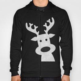 Christmas reindeer marble Hoody