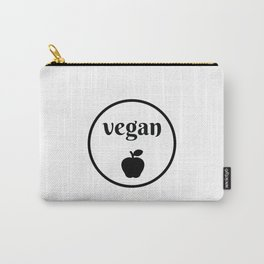 VEGAN APPLE Carry-All Pouch