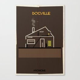 Dogville Directed by Lars von Trier Canvas Print