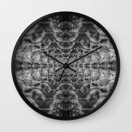 Abstract Digital Art Wall Clock