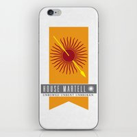 martell iPhone & iPod Skins featuring House Martell Sigil by P3RF3KT
