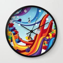 Open up Wall Clock