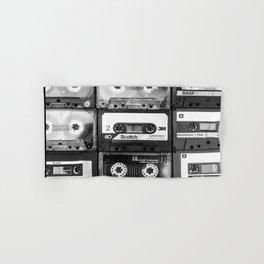 Something Nostalgic - black and white #decor #buyart #society6 Hand & Bath Towel