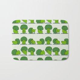 Broccoli Yoga Bath Mat