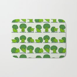 Broccoli Yoga Bath Mat