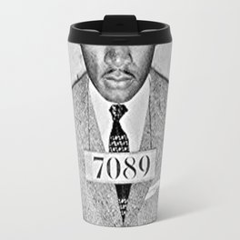 Martin Luther King Mugshot Jr Travel Mug