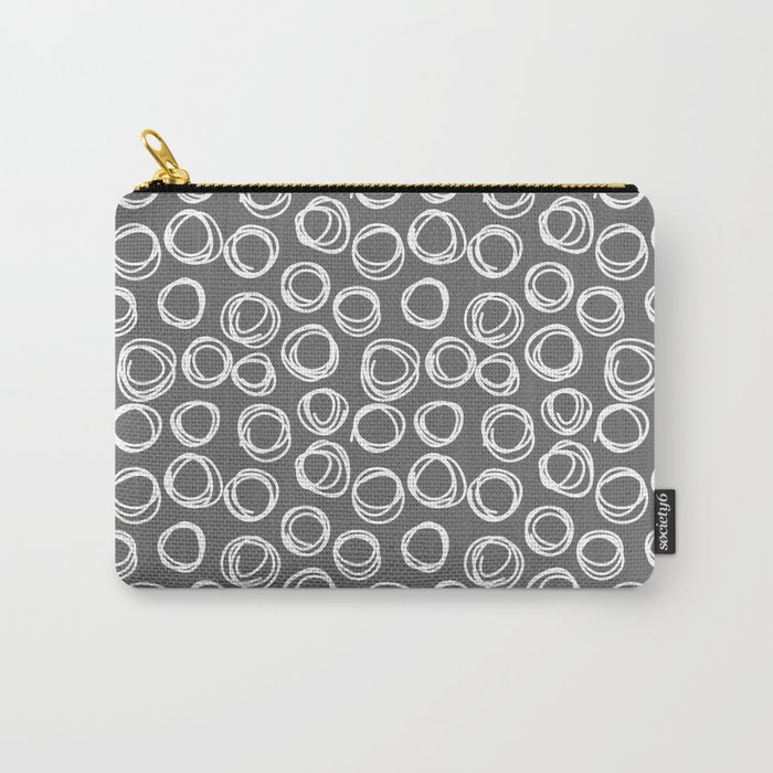 Hand drawn pattern Carry-All Pouch