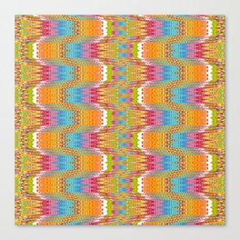 Nordic Knit Canvas Print