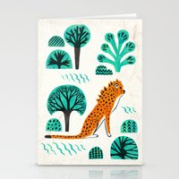 jaguar Stationery Cards featuring  Jaguar by Hui_Yuan-Chang