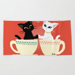 Pair cup Beach Towel