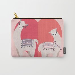 Llama and Alpaca with love Carry-All Pouch