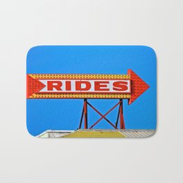 Let's Ride Bath Mat