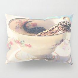 A Nice Cup of Gecko Pillow Sham