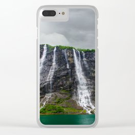 Wild but Beauty Clear iPhone Case