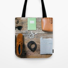 Get ready for the trip. Woman edition Tote Bag