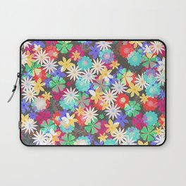 Confetti flowers Laptop Sleeve