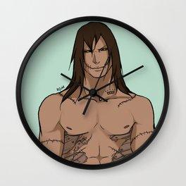 Tattooed Kakuzu Wall Clock