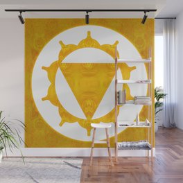 Energy Center Abstract Chakra Artwork Wall Mural
