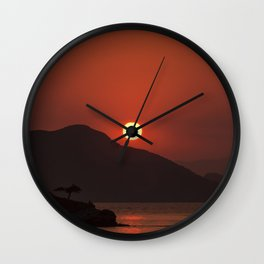 Turkish Sunset Wall Clock