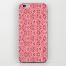 flowers or butterflies - uma releitura iPhone Skin