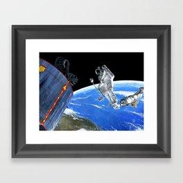 Syncom Salvage Framed Art Print