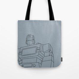 Soundwave G1 blue Tote Bag
