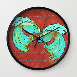 Betas Wall Clock