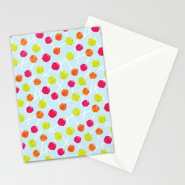 Watercolour Lolly Pops, Watercolor Popsicles Stationery Cards
