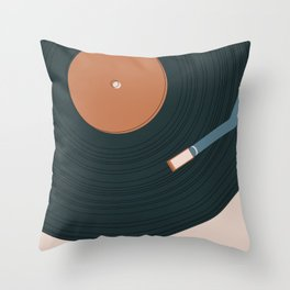 Track by track Throw Pillow
