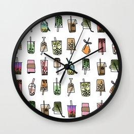 Boba baby Wall Clock