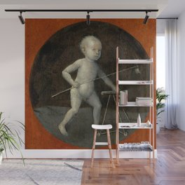 "Hieronymus Bosch ""Child with Pinwheel and Toddler's Chair"" Wall Mural"