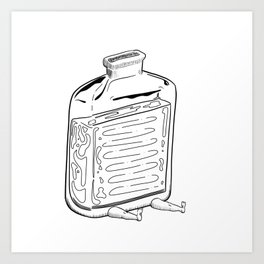 Suppress Art Print