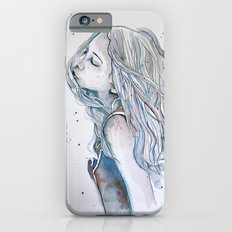 Breeze (variant II), watercolor painting iPhone 6s Slim Case