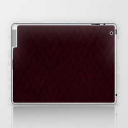 Red Deco Grunge 001 Laptop & iPad Skin
